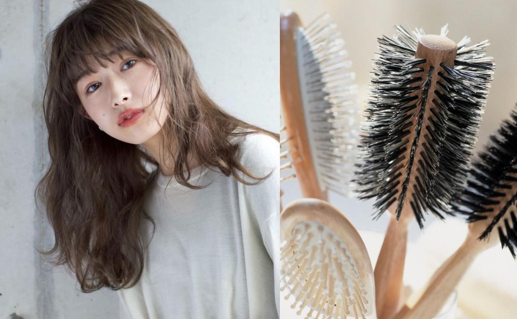 【梳頭護髮】早上這樣梳頭有助防脫髮 健康髮絲關鍵在梳頭技巧和一個高質髮梳...